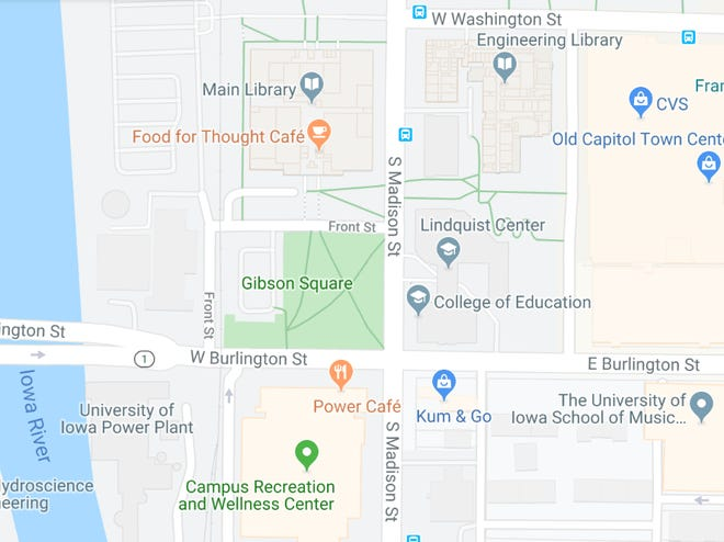 Iowa City Council will consider setting a public hearing for a project that would reconstruct the intersection of Burlington and Madison streets.