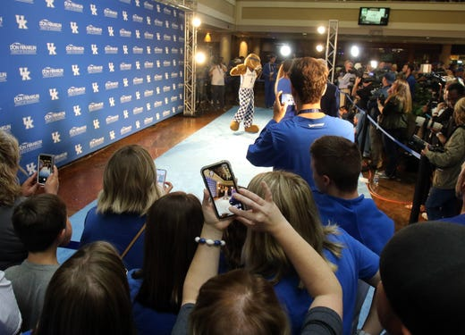 Immanuel Quickley steals show at Kentucky basketball's Big Blue Madness