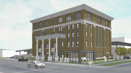 Lansing OKs tax incentives for $9M Temple Building rehab