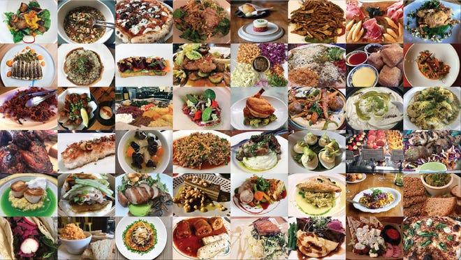 Food from the 2019 Milwaukee 50 best restaurants