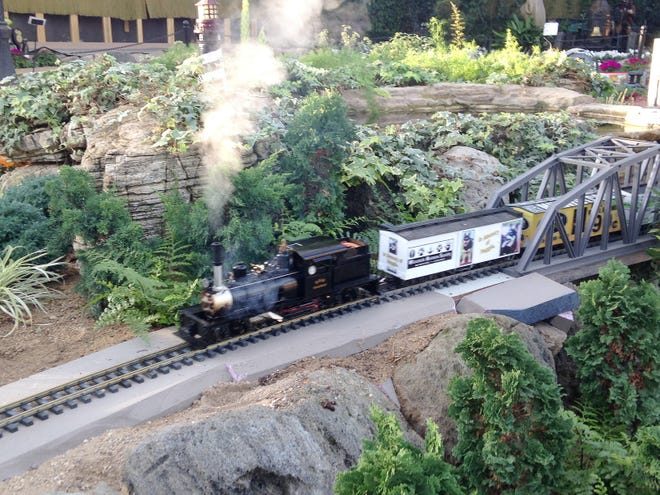 This year's train show, called All Aboard Games Train Show. will run Jan. 16 to March 21 at the Mitchell Park Domes.