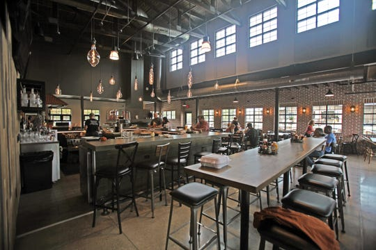 Tumbled Rock Brewery & Kitchen opened outside Devil's Lake State Park in Baraboo on Sept. 14, 2019. The brewpub serves lunch and dinner, including wood-fired pizzas.