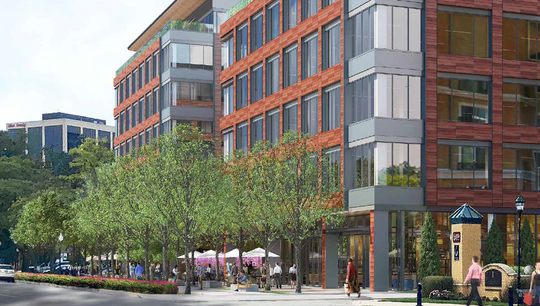 M Station project rendering for Morristown.