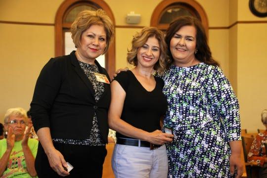 From left, Parents as Teachers Parent Educators Mirna Chairez and Yolanda Ruiz and program director Anna Barraza.
