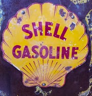 Old gasoline pumps with their large glass balls and familiar brand names bring back memories of 29 cent gas.