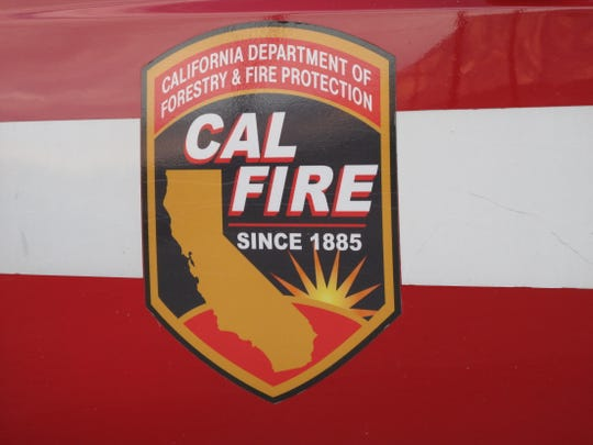 File photo of a Cal Fire / Riverside County fire truck.