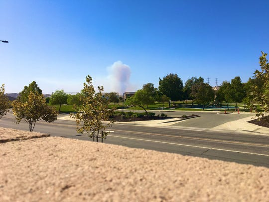 The Reche Fire, a wind-driven blaze that broke out today just north of Moreno Valley blackened 200 acres in two hours, threatens homes and prompts evacuations.