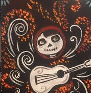 "Create your own ""Coco"" painting with family and friends at Create at My Studio, Indio on Oct. 21, 2019."