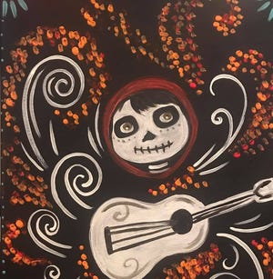 """Create your own """"Coco"""" painting with family and friends at Create at My Studio, Indio on Oct. 21, 2019."""