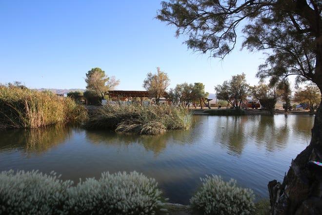 Joshua Tree Music Festival is held inside the Joshua Tree Lake RV and Campground in Joshua Tree, Calif.