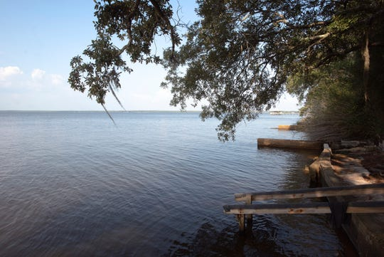 The calm and tranquil waters off Perdido Bay tested positive for high alkaline levels on Oct. 3.