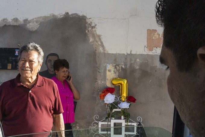The family and friends of Jose Antonio Elena Rodriguez, who gathered on Oct. 10, 2019, on the seventh anniversary of the Nogales teen's slaying by an Arizona Border Patrol agent, said they would ask the Mexican president to get involved in their quest for justice and seek the extradition of Agent Lonnie Swartz to face charges in Mexico.