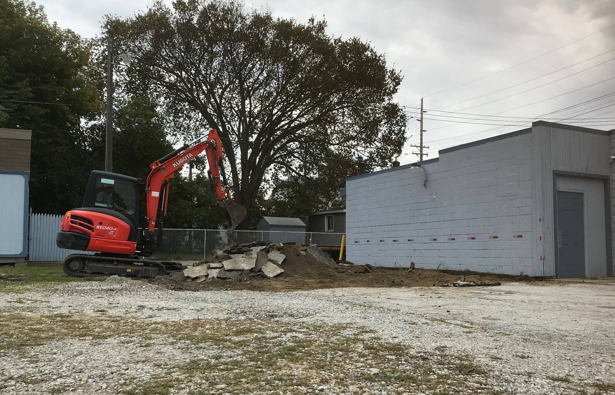 Blue Water Area Rescue Mission broke ground on its expansion of its men's facility on Friday, Oct. 11, 2019. The renovations will expand bathroom and laundry facilities, as well as its kitchen.
