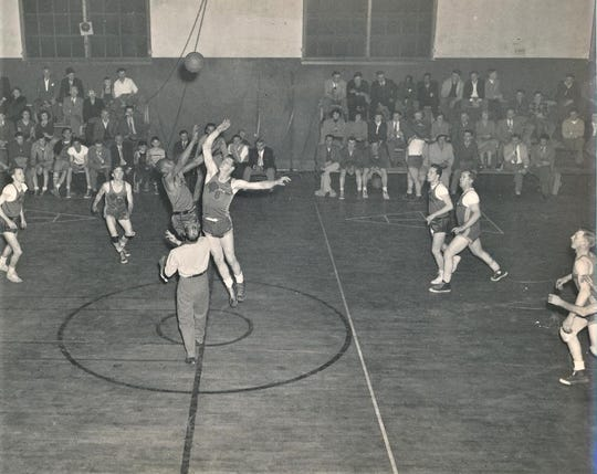 The Lincoln Cats basketball team played home games at the Lincoln Center gymnasium in Poughkeepsie. The building was erected in 1936 as part of U.S. President Franklin D. Roosevelt's Work Progress Administration.