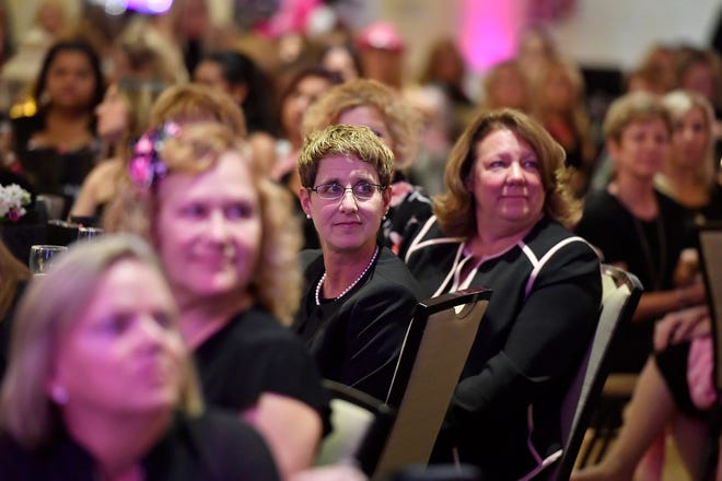Pink Power holds their 3rd annual Girls Night Out Black Dress Event, raising funds and awareness for breast cancer related causes, Thursday, October 10, 2019.John A. Pavoncello photo