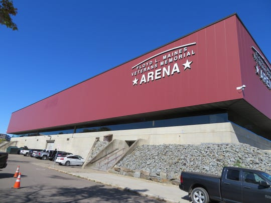 The Floyd L. Mains Veterans Memorial Arena in Binghamton can hold up to as many as 6,000 people depending on the setup for events. It loses money every year.