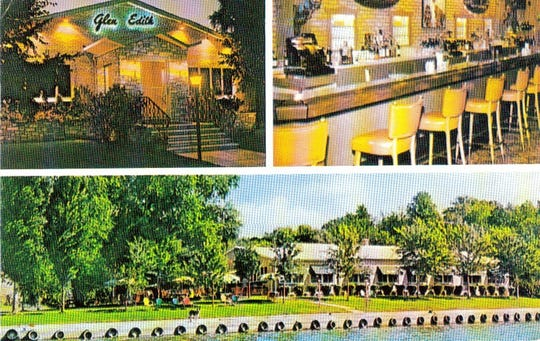 A circa-1960s postcard shows three views of the Glen Edith restaurant in Webster. The Glen Edith opened as a hotel/restaurant in 1902. The restaurant never reopened after the 1996 season.