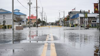 Subtropical storm Melissa brought significant flooding and rough surf to parts of Delmarva. Flood warnings remain in effect through Friday night.