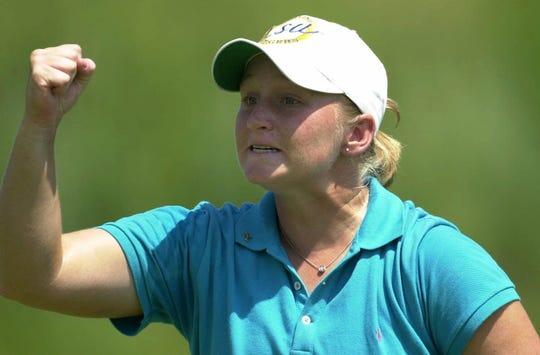 Former Byrd star golfer Meredith Duncan is now an LSU Hall of Famer.
