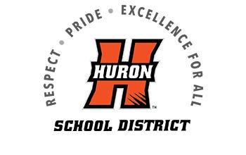 Huron School District logo