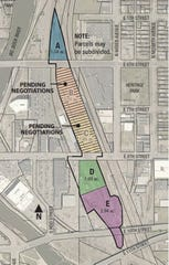 Jeff Scherschligt and the city of Sioux Falls have been negotiating for months over a potential land purchase that would see residential and commercial space built at the former BNSF rail yard downtown.
