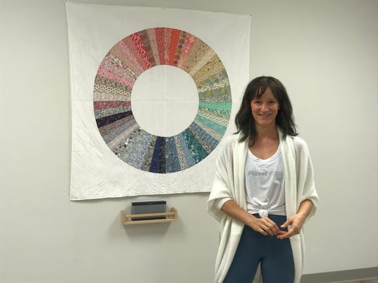 Lisa Lee-Oswald is opening her own studio called Plover Yoga in Stevens Point