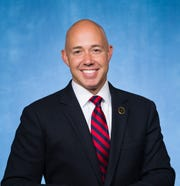 U.S. Rep. Brian Mast, R-Fla. He represents the Sunshine State's 18th Congressional District, which includes St. Lucie and Martin counties, as well as part of Palm Beach County.