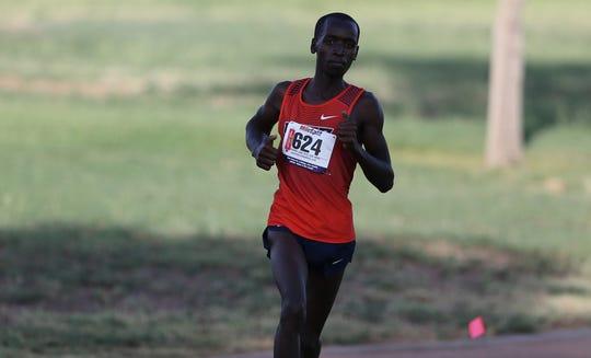 Titus Cheruiyot is a freshman cross country runner at UTEP
