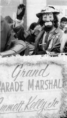 Jr. served as the grand marshal of the parade on Jan. 1, 1968.