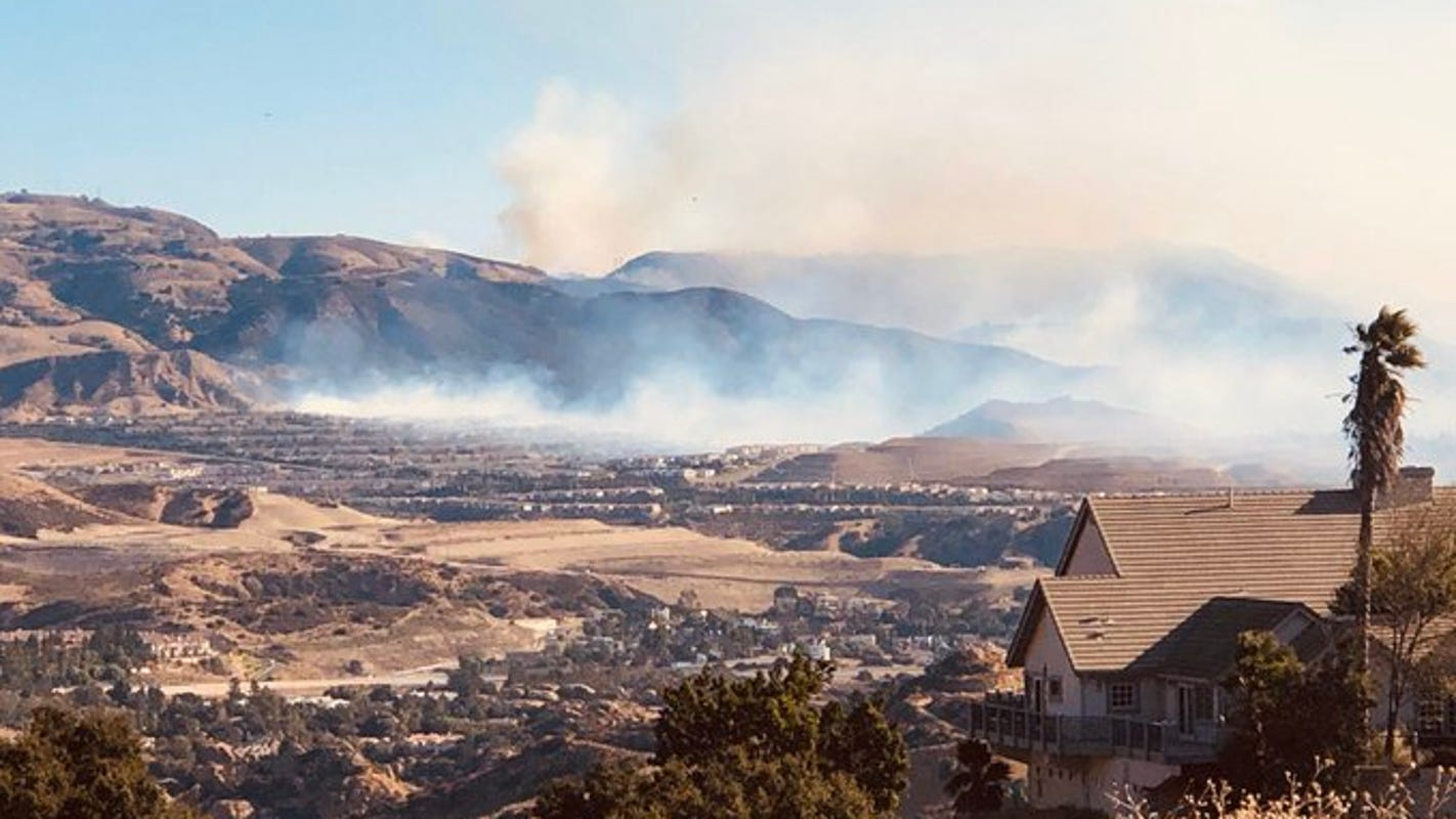 Dangerous fire weather is back with red-flag warning for Ventura County mountains