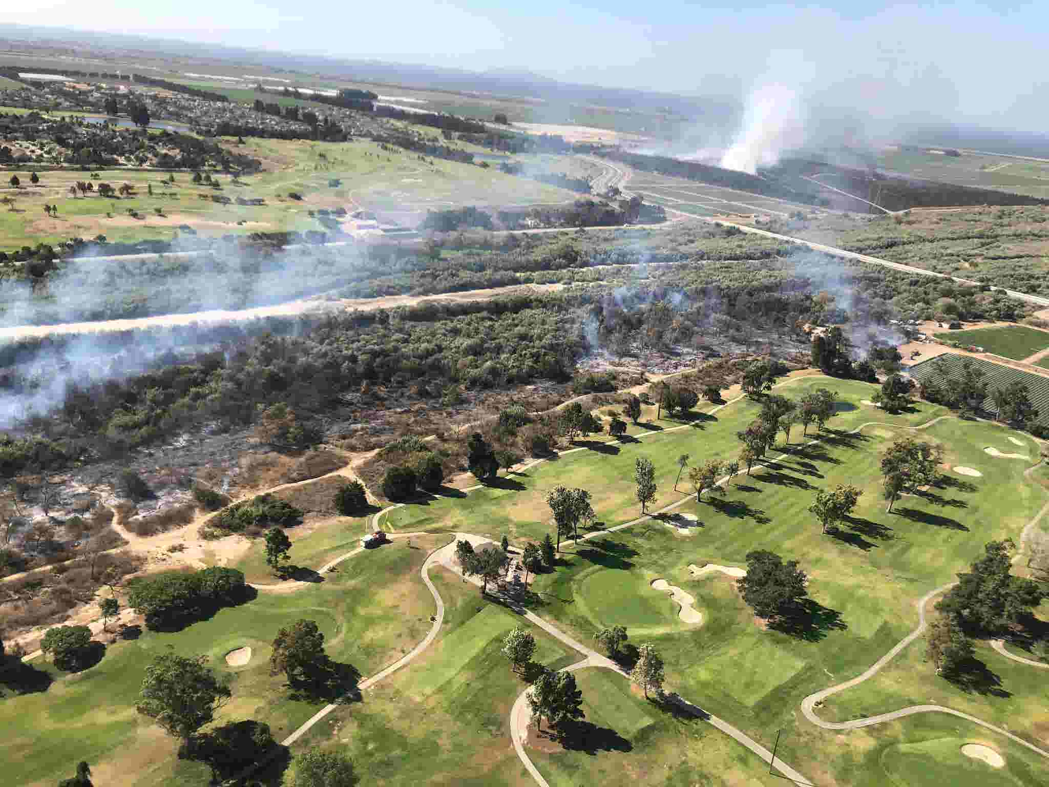 Fire problems are felt from one end of Ventura County to the other