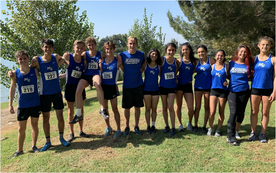 The Moorpark College cross country teams both finished fourth at the WSC Preview on Oct. 4 in South El Monte.