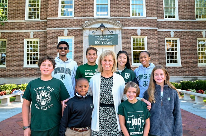 Tower Hill School kicked off the school year by celebrating its 100th anniversary.