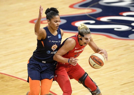 Elena Delle Donne and the Washington Mystics are 2019 WNBA Champions.