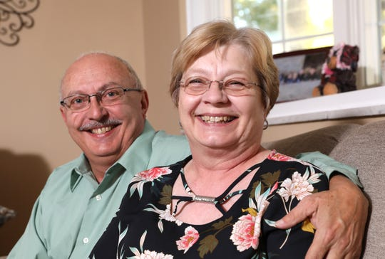 When Vanessa Brosie discovered a marble-sized lump on her right breast in January 2018, she wasted no time making an appointment with Dr. Barnes. Today she credits her recovery to husband Ed's undying love, her team of doctors and her faith in God.