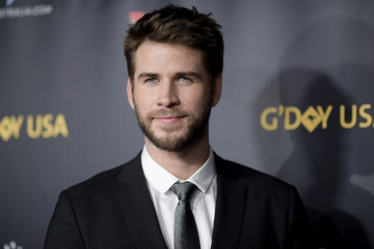 Liam Hemsworth attends the 2019 G'Day USA Los Angeles Gala at 3Labs on Saturday, Jan. 26, 2019, in Culver City, Calif. (Photo by Richard Shotwell/Invision/AP) ORG XMIT: CAPS117