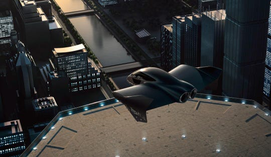 It's a bird, it's a plane, it's a car: Porsche, Boeing pair up to work on flying vehicles