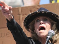 Jane Fonda was arrested at her climate change protest in Washington, D.C., which she plans to do every Friday through January.