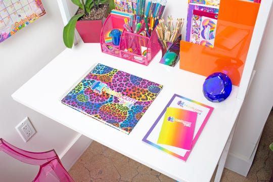 Office area in the Lisa Frank Flat.