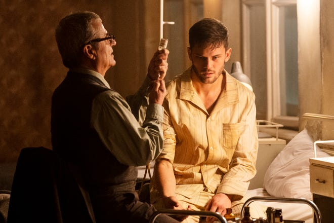 J. Randolph Bentley (Jeremy Irvine), an early participant in the CIA's Treadstone assassin program, finds himself at the mercy of an ex-Nazi mind-control expert (Martin Umbash) in 1970s East Germany in USA Network's Bourne-inspired 'Treadstone.'
