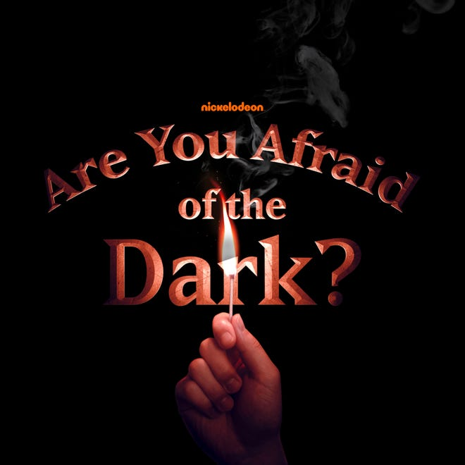 """""""Are You Afraid of the Dark"""" (2019) title screen"""