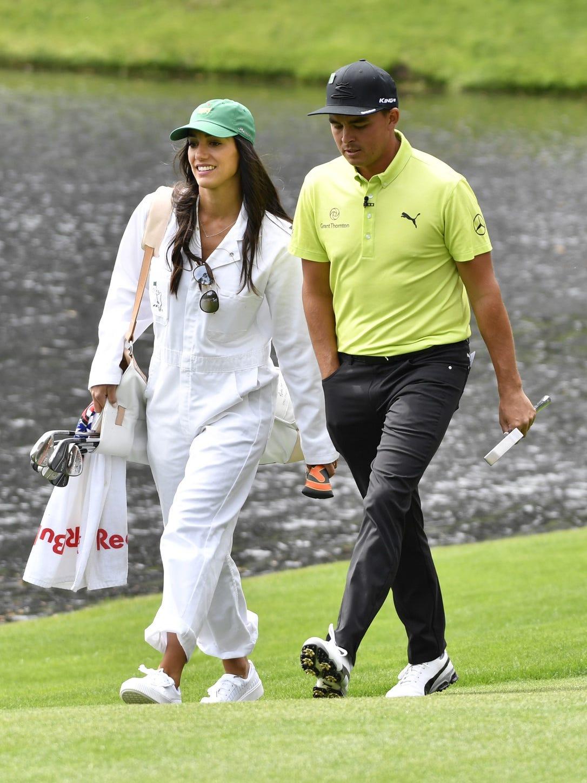 Golfer Rickie Fowler, fitness model Allison Stokke get married on the beach
