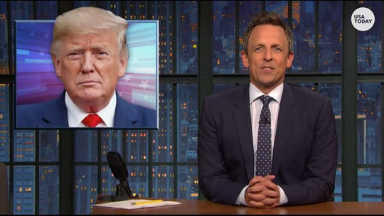 Meyers has perfect Trump henchmen description in Best of Late Night