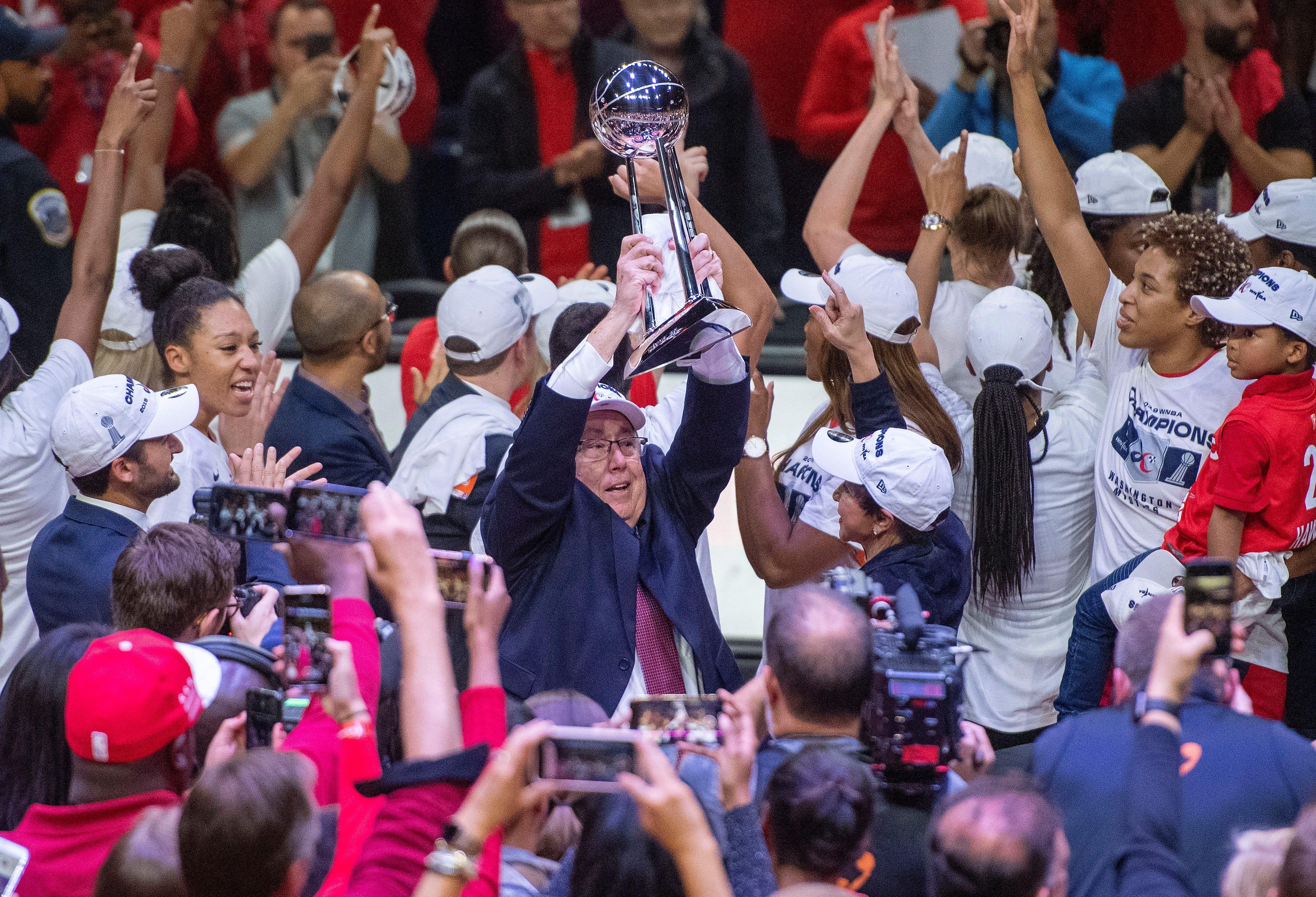 Washington Mystics outshine Connecticut Sun to win first WNBA Championship