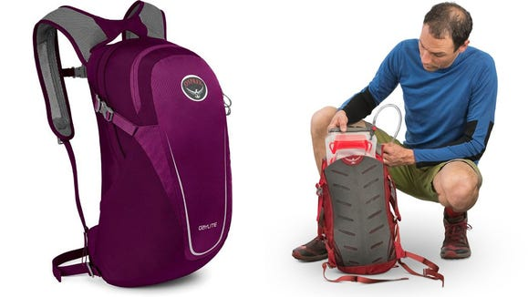 Fit everything you need for a day hike with this sack.