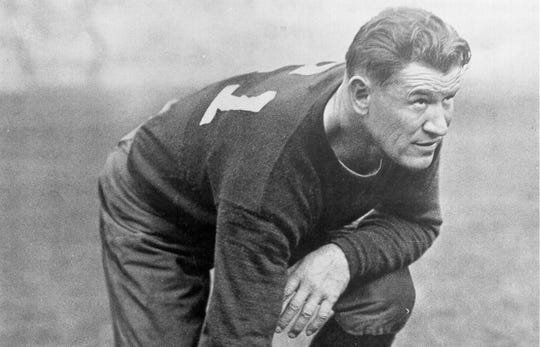 Jim Thorpe was First Team All-Pro in 1923 and was inducted into the Pro Football Hall of Fame in 1963.