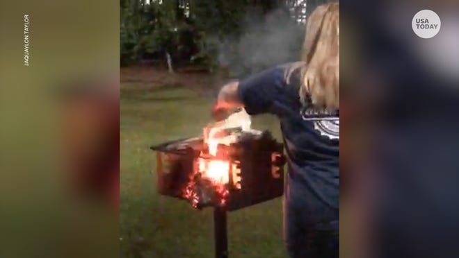 Georgia Southern students burn Latina author's book after she spoke about whiteness