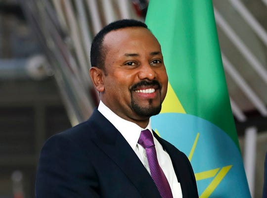 Westlake Legal Group e8f54fcf-ed13-4480-a64a-f4d9045aa94c-AP_Nobel_Peace Nobel Peace Prize for 2019 awarded to Ethiopian Prime Minister Abiy Ahmed