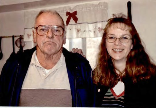 "Felix ""Kirk"" McDermott, 82, with his daughter, Melanie Proctor. When McDermott's blood-sugar level plummeted before his death April 9, 2018, medical records do not indicate that anyone ordered a blood test that could have detected the unprescribed insulin investigators now believe coursed through his veins, killing him."