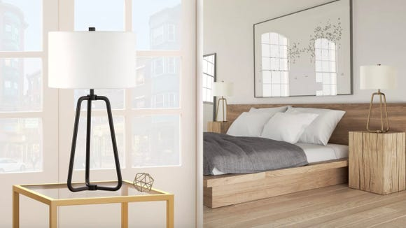 Add some modern flair to your bedroom.